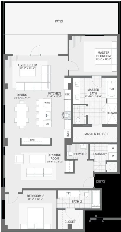Luxury Apartments Austin • The Richardson at Tarrytown