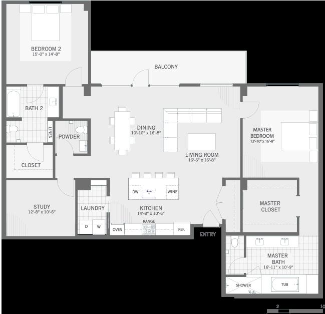 Luxury Apartments Austin U2022 The Richardson At Tarrytown